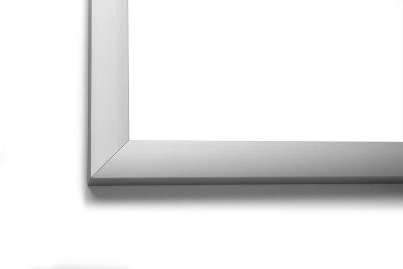Рамка алюминиевая аналог Nielsen профиль №62 серебристый