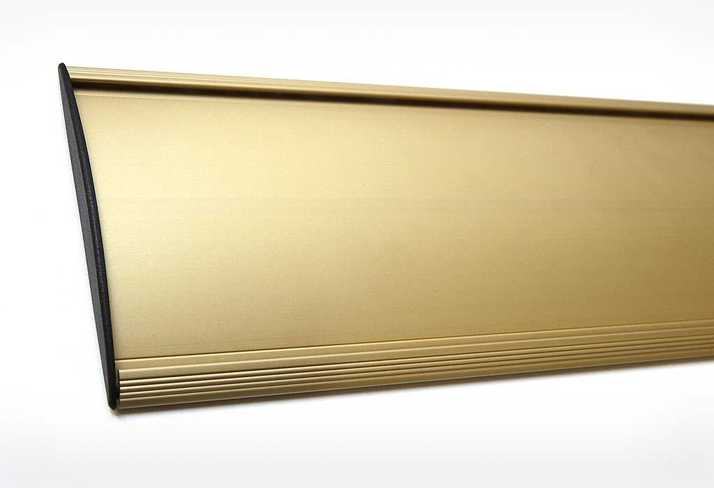 Табличка RAINBOW золотистая